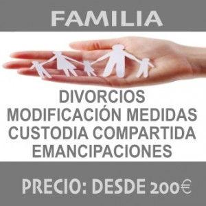 FAMILIA - ABOGADO_DIVORCIO - MODIFICACION_MEDIDAS - EMANCIPACION