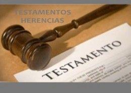 testamento herencia