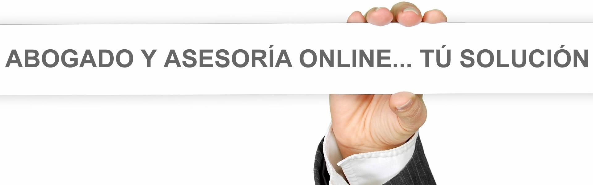 Abogado asesoría online